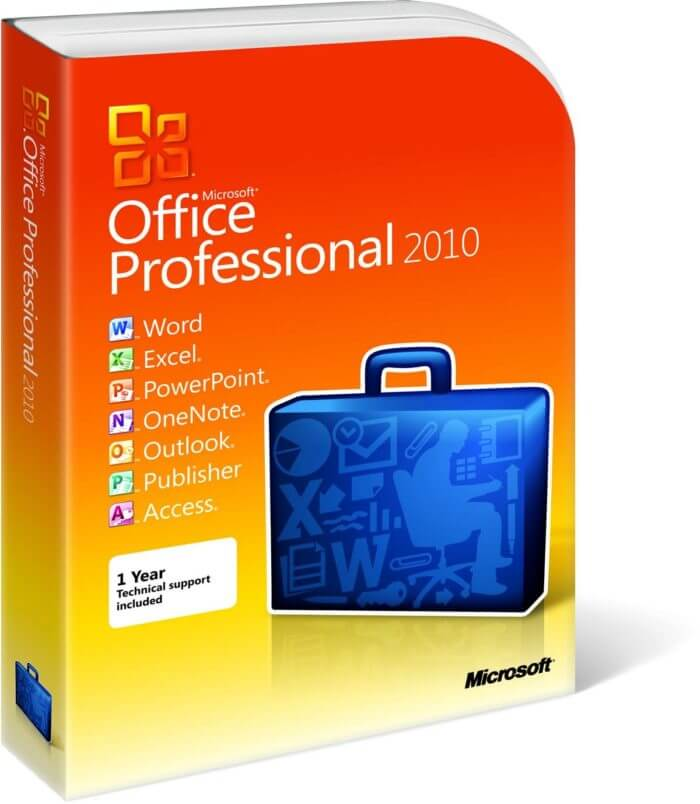 Office 2010 Professionnel