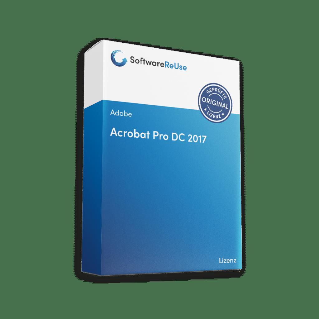 Acrobat Pro DC 2017 Lizenz Verpackung