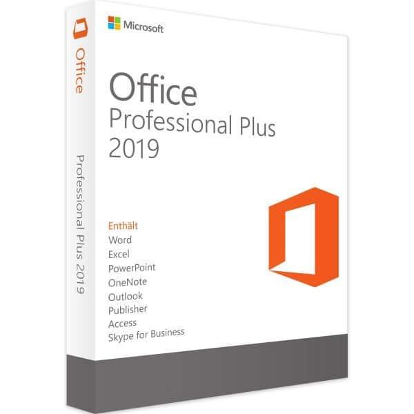 Microsoft Office 2019 Professional Plus bei SoftwareReUse Lizenz gebraucht kaufen
