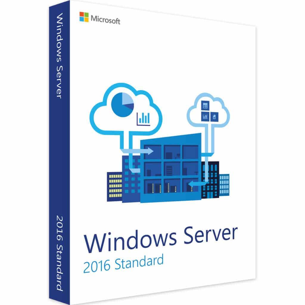 Produkt Windows-Server-2016-Standard Lizenz gebraucht kaufen