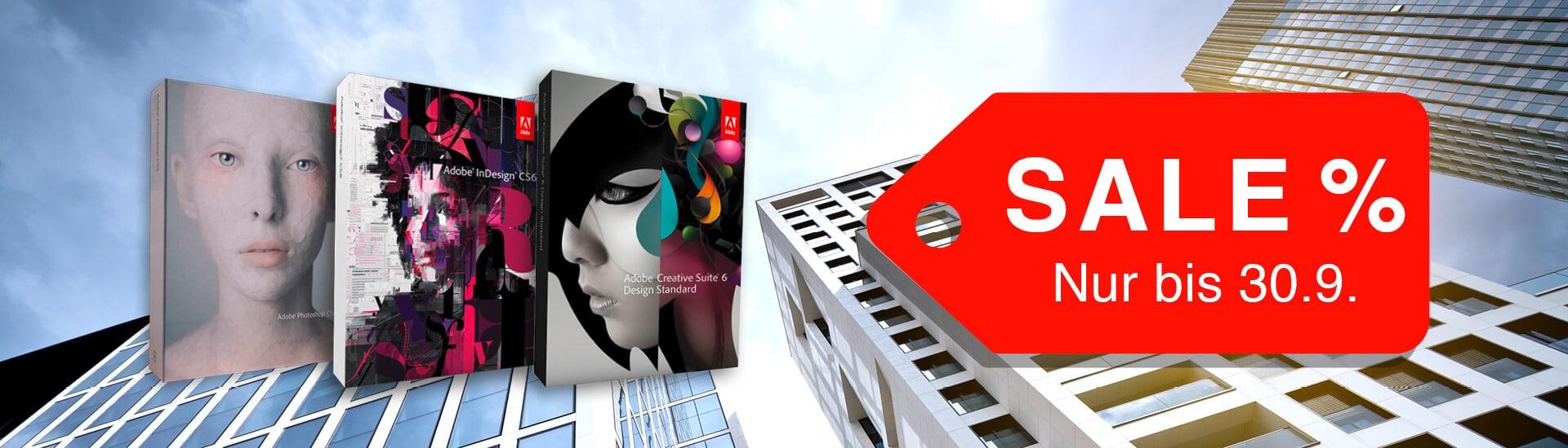 Adobe Gutschein und Aktion